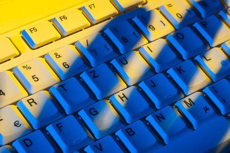 IT Sicherheit Tastatur Hand