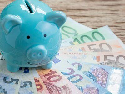 Geld Förderung Sparschwein