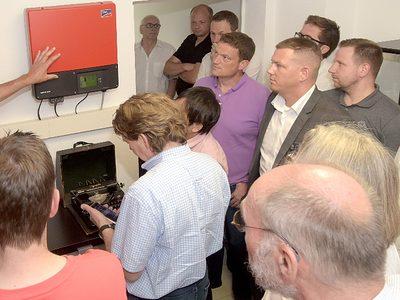 Die Bustour im Rahmen der Mobilitätspartnerschaften Essen und Oberhausen fand viele interessierte Teilnehmer
